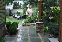 Garden: Landscaping and pavers