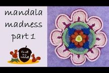 Mandala Madness video tutorials / crochet mandalas