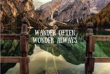 Adventurous Words / Poetry designed to stimulate your inner adventurer and travel to a beautiful universe.
