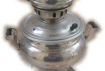 handmade copper samovar teapot tea kettle