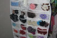 Hairbow storage