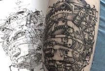 Tatuaggi straordinari!