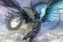 Fantasy Art Dragon