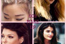 Inpiration till årtalen / Makeup årtal