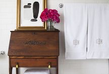 Bathroom Idea's / Amongst the emails for a certain skirt that got repinned numero i got the bathroom ideas email, so here are my re pins with my ideas - enjoy and re pin...