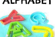 Alphabet learning activity / Activities to teach alphabets to kids