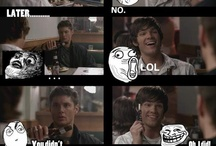 Supernatural!! Funny and Dean Yum!!