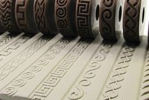 rélyéf / Dekorační nástroje pro keramiku. Ceramics, pottery
