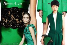 Fall/winter 2015 Color Inspirations / by Sana Moda