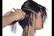 Hair Cutting / Education for hair cutting