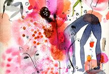 Aquarius / Water Colour, Art and Imagination.. Ethereal Dreams.