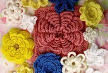 crochet flowers / by Clara Sledd