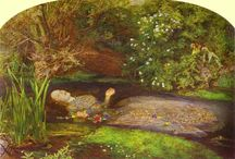 OPHELIA / the most beautiful paintings inspired from ophelia's hamlet