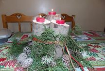 Christmas from nature / some crafts I did for Christmas / by Beth Henry-Farmer
