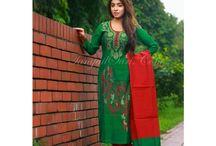 New Tangail Tant Salwar Kameez Collections