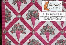 Foxtail Quilting Designs - FREE TIPS / How to choose the best design combinations for quilts
