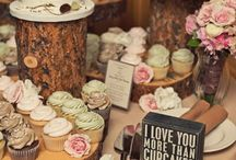 {wedding cakes table}