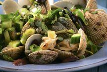 Κυδώνια αχνιστά με κάπαρη και ελιές / Η θάλασσα στο πιάτο σας με.. κυδώνια αχνιστά