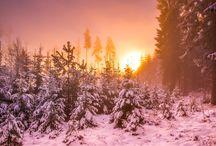 Téli tájfotók