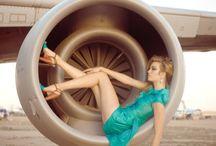 8 Airplane & Fashion/Glamour