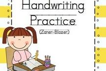 Teacher Resources - Handwriting