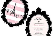 Paris Baby Shower / Paris Baby Shower Theme / by Modern Baby Shower Ideas