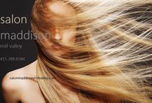 Salon Maddison Facebook / Updates and special offers connected to our Facebook page!