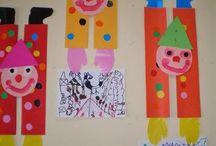clown porta disegni