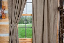 Country Style Designer Curtains