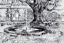 Drawings, Zeichnungen, Skizzen, Sketches