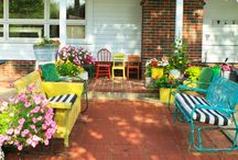 delightful outdoor areas