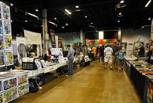 (Not) Starving Artist Tips / How to have a artist table at a comic con and other business tips.