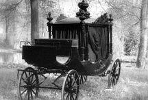 Vintage begravelse