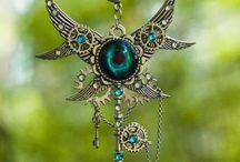 Fantasy Keys, Gothic & Steampunk Chokers / Jewelry by RedSelena