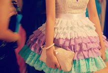 playing dress up . . .