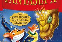 Fantasia, Stilton / Geronimo en Thea Stilton boeken