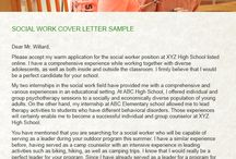 Social Work Cover Letter Sample / The Social Work Cover Letter is the first letter that the recruiter wants to see. It is not same as the resume. So do not be confused, please collect your best Social Work Cover Letter from http://www.samplecoverletters.net/social-work-cover-letter-sample/