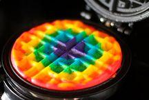 Rainbow Creations / Rainbow food items