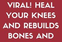 Knee jts & bone repair