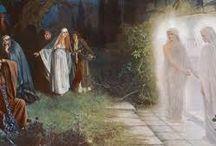 ženy idú k hrobu