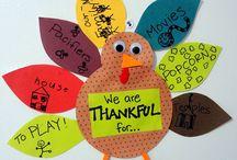Thanksgiving Recipes & Activities