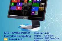 ICTS A Value Partner ICTS All-In-One  A-201 / ICTS ~ A Value Partner, ICTS All-In-One,  Model No: A-201, Specifications, Processor: AMD Dual Core 3.00 GHz, Memory: 2GB DDR3 Ram, Display Dimension: 20'', Storage: 500GB HDD, Support,  Mail: info@icts.in, Toll Free: 1800-270-2999, Mon-Sat 9:30am-6pm, Visit: http://www.icts.in , 3 YEARS ON SITE WARRANTY. T&C apply.