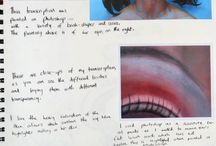 GCSE art sketchbook ideas