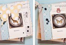 Crafts - Mini Scrapbook Albums