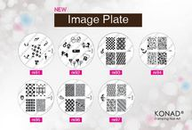 KONAD NAIL ART STAMPING / Great way to create nail art quickly and simply either in the salon, or at home.
