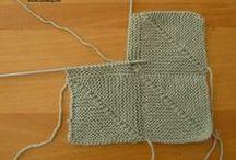 carré au tricot