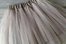 фатиновые юбки детские