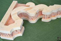 Chesti din Lemn / Sclupturi, idei de prelucrare a lemnului .
