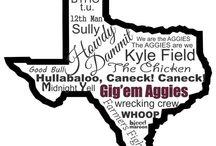 Gig 'em Ags / by Emily Strode