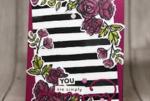 Petal Palette and Petals & More Thinlits Stampin Up